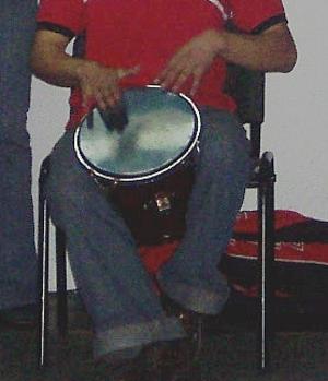 Caja vallenata - playing the Caja