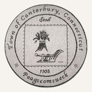 Canterbury, Connecticut - Image: Canterbury C Tseal