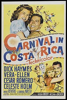 <i>Carnival in Costa Rica</i> 1947 film by Gregory Ratoff