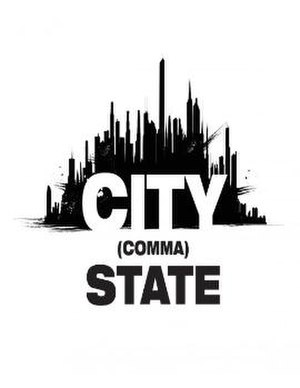 City (Comma) State - Logo for City (Comma) State