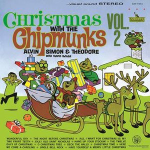 Christmas with The Chipmunks - Image: Christmas 2