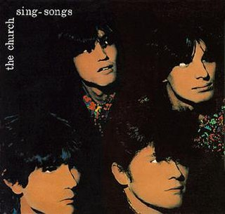 <i>Singsongs</i> 1982 EP by The Church