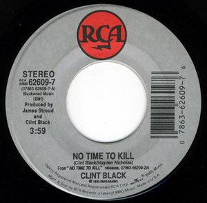 No Time to Kill (song) - Image: Clint Black No Time to Kill