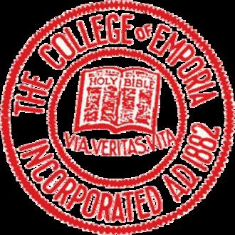College of Emporia - Image: College of Emporia Seal