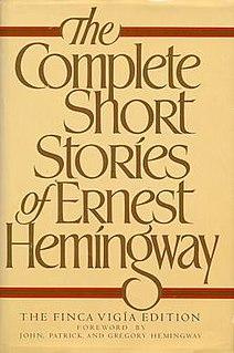 <i>The Complete Short Stories of Ernest Hemingway</i> book by Ernest Hemingway