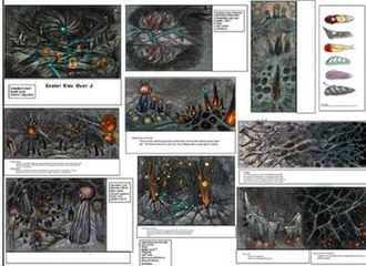 Metroid Prime - Image: Crater style guide color