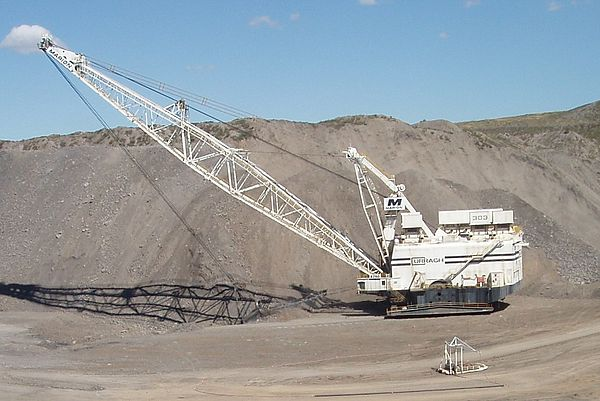 dragline excavator wikivisually