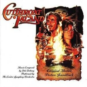 Cutthroat Island (soundtrack) - Image: Cutthroat Island Original Soundtrack