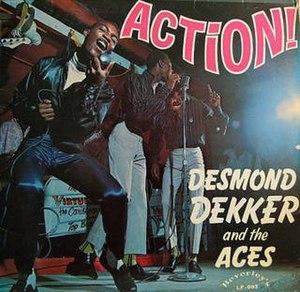Action! (Desmond Dekker album) - Image: DD Action