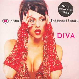 Diva (Dana International song) - Image: Dana International Diva