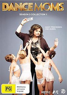 Dance Moms Season 3 Part 1 DVD Cover Art.jpg