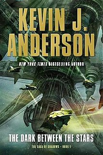 <i>The Saga of Shadows</i> book by Kevin J. Anderson