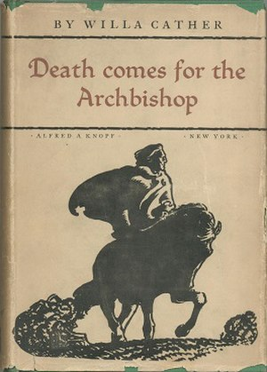 Death Comes for the Archbishop - First edition dust jacket