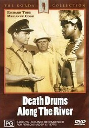 Death Drums Along the River - DVD cover
