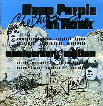 Deep Purple in Rock - Image: Deep Purple in Rock Anniversary edition
