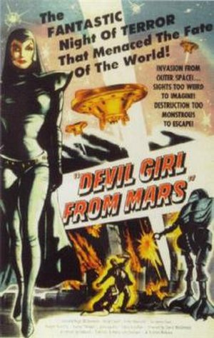 Devil Girl from Mars - Theatrical release poster