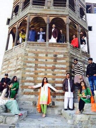 Diyar-e-Dil - Diyar-e-Dill cast and crew in Skardo at Khaplu Palace.