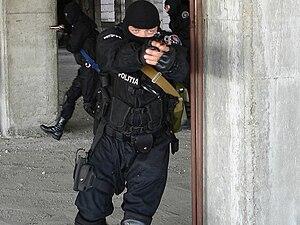 Detașamentul de Poliție pentru Intervenție Rapidă - DPIR squad in action
