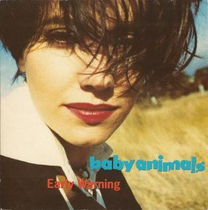 Early Warning (Baby Animals song) - Image: Early Warning UK by Baby Animals