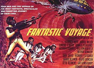 Fantastic Voyage - Theatrical release poster