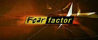 <i>Fear Factor</i> television program