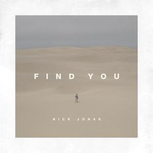 Find You (Nick Jonas song) - Image: Find You (Nick Jonas single)