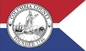 Columbia County, New York - Image: Flag of Columbia County, New York