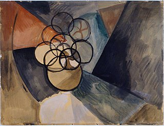 <i>Caoutchouc</i> (Picabia) 1909 painting by Francis Picabia