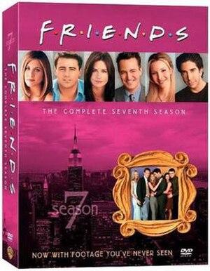 Friends (season 7) - Image: Friends Season 7 DVD