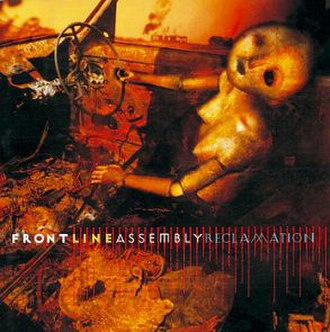 Reclamation (Front Line Assembly album) - Image: Front Line Assembly Reclamation Front Cover