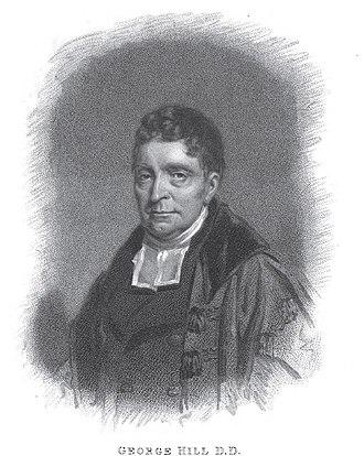 George Hill (minister) - Portrait by John Watson Gordon