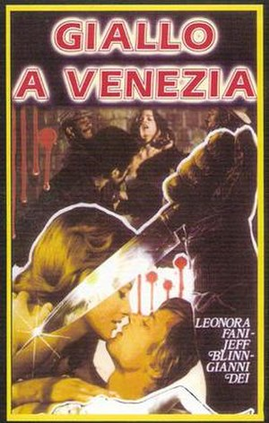 Giallo a Venezia - Image: Giallo a Venezia Poster