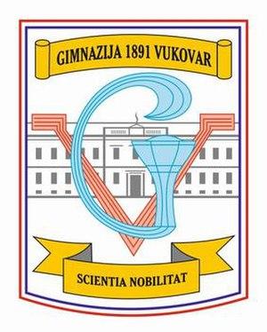 Gymnasium Vukovar - Image: Gimnazija Vukovar Гимназија Вуковар