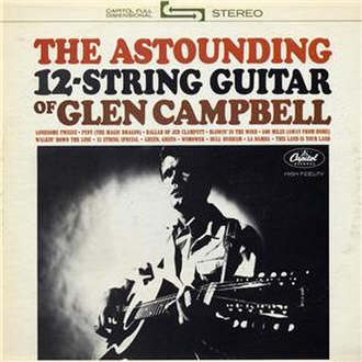 The Astounding 12-String Guitar of Glen Campbell - Image: Glen Campbell The Astounding 12 String Guitar album cover