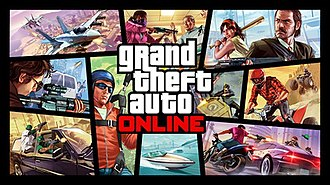 Grand Theft Auto Online - Image: Grand Theft Auto Online