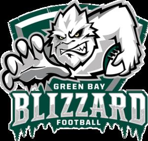 Green Bay Blizzard - Image: Green Bay Blizzard