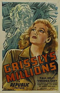 <i>Grisslys Millions</i> 1945 film by John English