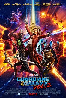guardians of the galaxy vol 2 wikipedia