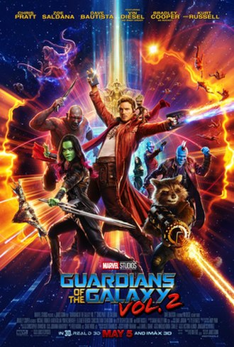 Guardians of the Galaxy Vol. 2 - Theatrical release poster