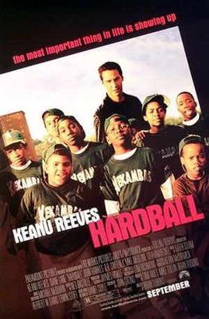Hardball (film) - Theatrical release poster