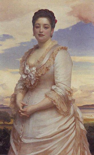 Hannah Primrose, Countess of Rosebery - Hannah, Countess of Rosebery, painted by Frederic, Lord Leighton
