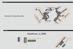 Heathrow's Layout in 2006