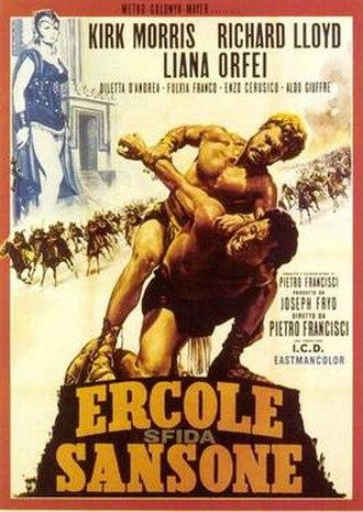 Hercules, Samson and Ulysses - Italian poster for Hercules, Samson and Ulysses
