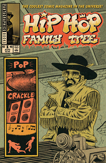 <i>Hip Hop Family Tree</i> comic by Ed Piskor