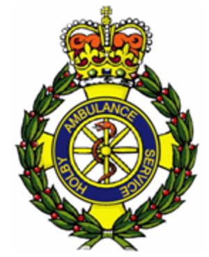 Holby - Image: Holby Ambulance Crest