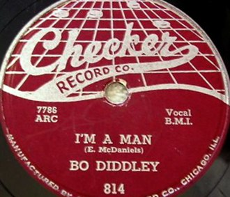 I'm a Man (Bo Diddley song) - Image: I'm a Man single cover