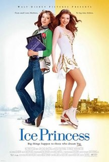 <i>Ice Princess</i> 2005 film by Tim Fywell