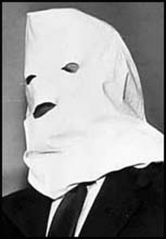 History of Canada (1945–60) - Gouzenko wearing his white hood for anonymity