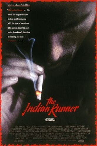 The Indian Runner - Theatrical release poster