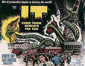 It Came from Beneath the Sea - Theatrical release half-sheet display poster